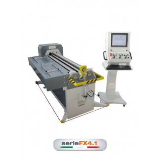 FLEXO FX4.1 SERIES 4-ROLL PLATE ROLLING MACHINES