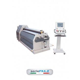 FLEXO FX4.2 SERIES 4-ROLL PLATE ROLLING MACHINES