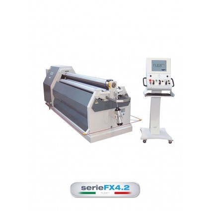 FLEXO FX4.2 SERIES 4-ROLL PLATE ROLLING MACHINES