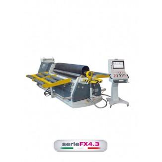 FLEXO FX4.3 SERIES 4-ROLL PLATE ROLLING MACHINES